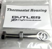 Fasteners-Bolts-Washers - Kits, Sets, & Misc Fasteners - Butler Performance - Butler Performance Thermostat Housing Fastener Kit, 4pc ABO-Kit-TH
