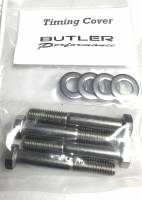 Fasteners-Bolts-Washers - Kits, Sets, & Misc Fasteners - Butler Performance - Butler Performance Timing Cover Fastener Kit, 8pc ABO-Kit-TC