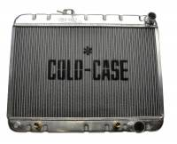 Cooling System Components - Radiators - Cold Case - Cold Case 64-65 Pontiac GTO Tempest LeMans Aluminum Radiator, AC, (AT) CCR-GPG22a