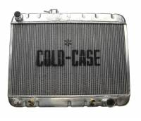 Cooling System Components - Radiators - Cold Case - Cold Case 66-67 Pontiac GTO Tempest LeMansAluminum Radiator, AC, (AT) CCR-GPG38A