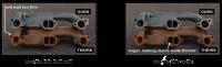 Max Manifolds - Max Manifolds Pontiac 1964-67 GTO/LeMans/Tempest Ram Air D-port Exhaust Manifolds w/ High Temp Paint, 2.5 Oversized Exhaust Outlets (Set) MPE-RPE650H - Image 2