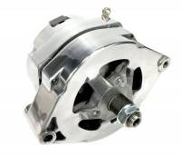 March Performance - March GM 10SI 140 amp 1 wire Polished Alternator MAR-P551 - Image 1