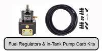 Fuel Regulators, Filters, & Carbureted In-Tank Kits