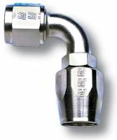 Hose End Fittings - -4 Fittings - Russell - Russell Hose End, -4, 90 degree, Endura RUS-610151