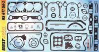 Best Gasket - Complete Engine Gasket Kit w/ Rear Main Rope Seal, Pontiac 1961-79 326/389/400/421/428/455  Except RA/SD BGA-RS617SA-2