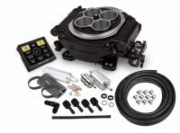 EFI Systems - Holley EFI SYSTEMS - Holley - Holley Sniper EFI Self-Tuning w/Fuel System+ handheld EFI monitor- Black Finish HLY-550-511k