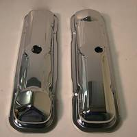 Valve Covers, Breathers, Oil Fill Caps - Valve Covers - Butler Performance - Pontiac 1965 389 Chrome Valve Covers (Set) AAU-N221R