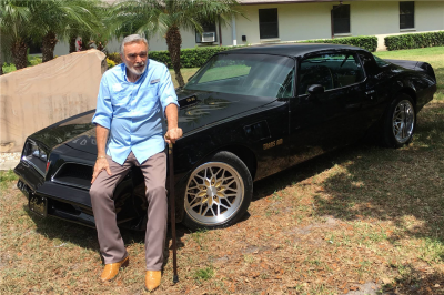 Burt Reynolds Butler Powered Bandit Trans Am Cover