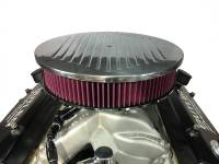 Air/Fuel - Air Cleaners/Filters - RPC - RPC Drop Base Air Cleaner w/Ball Milled Polished Billet Aluminum Lid and Washable High Flow Filter, 4150 Style RPC-S6811