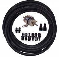 Fittings & Hoses - Hose & Fitting Kits - Butler Performance - Universal Fuel Line Kit without Fuel Regulator TAN-U-LINE-KIT45
