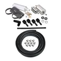 Fuel System- Tanks, Pumps, & Accessories - Hose Kits & Accessories - Holley - Holley EFI Fuel Line Kit (Sniper Compatible), 40ft, HLY-526-7