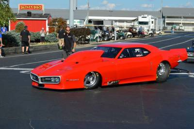 Mike Cooper's 1968 ProCharged Pontiac Drag Car Cover