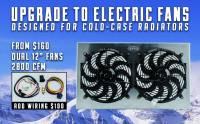 Cold Case - Cold Case 64-65 Pontiac GTO Tempest LeMans Aluminum Radiator, AC, (AT) CCR-GPG22a - Image 3
