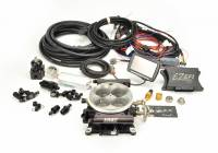 Air/Fuel - EFI Systems & Components - F.A.S.T. - FAST EZ-Fuel EFI Injection System w/Complete In-line Fuel System (EZ-EFI 1.0), w/4150 Black Anodized TB, w/Touchscreen FAS-30227-06KIT