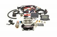 F.A.S.T. EFI SYSTEMS - SELF TUNING EFI - EZ-EFI • EZ-EFI 2.0 - F.A.S.T. - FAST EZ-Fuel EFI Injection System Base Kit (EZ-EFI 1.0), w/4150 Black Anodized TB, w/Handheld FAS-30447-06KIT (In-Tank System)
