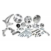 March Performance - MarchUltra SerpentinePulley & Bracket Kit, No AC, Keyed MAR-13105 - Image 3