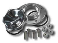 Valve Covers, Breathers, Oil Fill Caps - Valve Cover Breathers/Oil Caps - Pro-Werks - Pro-Werks 2 in. Fill Cap with Aluminum Bolt-on Bung, Polished PWE-C73-759-B