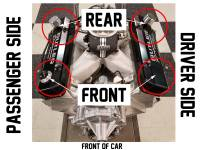 "Butler Performance - Butler Performance ""Pontiac"" Laser Etched Short (2 3/4) Black Fab Aluminum Valve Covers (Set) BFA-SVC1-BA - Image 3"