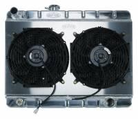 Cold Case - Cold Case 66-67 Pontiac GTO Tempest LeMans Aluminum Radiator, W/O AC (MT) CCR-GPG34 - Image 5