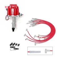 Ignition/Electrical - Ignition Boxes - Butler Performance - Pontiac Distributor and Wire Kit, HEI, RPC-KIT