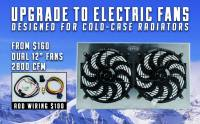 Cold Case - Cold Case 64-67 Pontiac GTO Super Duty Aluminum RadiatorShroud Fan KitW/O AC, AT & MT  CCR-GPG34ASK - Image 5