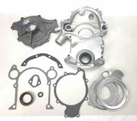 Timing Covers and Accessories - Timing Covers & Kits - Butler Performance - Butler Performance 8-Bolt Replacement Timing Cover Kit w/High Flow Water Pump BPI-TC-8B-KIT