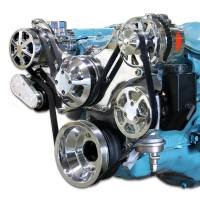 Engine Components- External - Pulleys & Serpentine Belt Systems - Eddie Motorsports Serpentine Systems