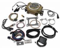 Holley - Holley Sniper EFI Self-Tuning kit + handheld EFI monitor- Classic GoldFinish HLY-550-516 - Image 3