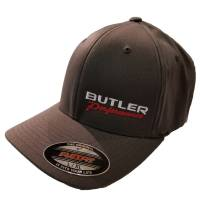 Apparel, Decals, Books, Gift Cards - Hats - Butler Performance - Butler Performance Hat, Grey, (Flexfit),BPI-HAT-6277-DK-GR