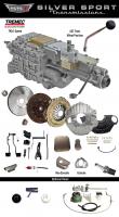 Transmissions - Tremec Transmission Kits by SST - SST - 64-67 GTO/LeMans, A-Body,SST Tremec Perfect-Fit 5 Speed TKO 600 Transmission Kit, Auto to TKO