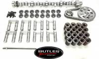 Butler/Comp- Cams and Cam Kits - Hydraulic Roller Cams and Cam Kits, BP Custom Grinds - Butler Performance - Butler/Comp Custom Cam & Lifter Master Kit Pontiac HR BPI-K-BP8010SP