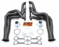 "Doug's Headers - Doug's Headers 2"" 4-Tube Full Length Round Port Headers Pontiac Firebird 400-455 70-74 Black DHE-D523B"