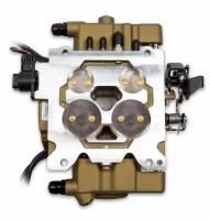 Holley - Holley Sniper EFI Quadrajet Self-Tuning w/ handheld EFI monitor, Classic Gold Finish - Image 5