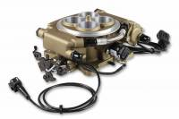 Holley - Holley Sniper EFI Self-Tuning kit + handheld EFI monitor- Classic Gold Finish, w/Fuel System  HLY-550-516K - Image 2