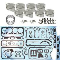 Butler Pontiac 400 Rebuild Kit Cast, Hypereutectic Pistons