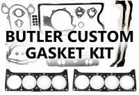 Gaskets and Freeze Plugs - Overhaul Gasket Set - Butler Performance - Butler Custom Overhaul Engine Gasket Set- BPI-Gasket-Kit-Engine