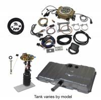 EFI Systems & Components - Butler Performance - Butler Performance Complete EFI Solution Kit w/ HOLLEY SNIPER 4150, EFI Ready Fuel Tank w/Complete In-Tank Fuel System