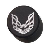 Butler Performance - Firebird Screaming Chicken Custom CNC Black Aluminum Push-In Breather - Image 2