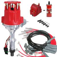 Ignition/Electrical - Ignition Coils - MSD Performance - Complete MSD Ready to Run Ignition Kit, Dist, Wires, Coil Red or Black MSD-KIT-8528