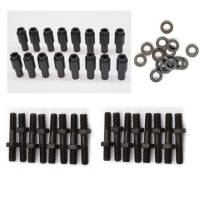 Rocker Arms and Accessories - Rocker Accessories- Polylocks, Lock Nuts, and Rocker Balls - Butler Performance - Pontiac 7/16 Rocker Arm Stud Polylock Upgrade/Conversion Kit