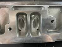 Edelbrock - Edelbrock Pontiac PORTED 12.6 Degree Valve Angle Victor Bare Pro Port Cylinder Heads *w/Pushrod Holes*, 375cfm (Pair)  EDL-77839-375-2 - Image 2