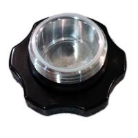 Butler Performance - Butler CNC 1-5/8 in. Fill Cap with Aluminum Bolt-on Bung, Black Powder Coated - Image 3