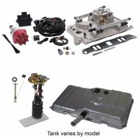 EFI Systems & Components - Butler Performance - Butler Performance Complete EFI Solution Kit w/ Edelbrock ProFlo 4, EFI Ready Fuel Tank w/Complete In-Tank Fuel System