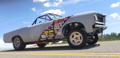Chris McGuire's 64 Tempest Gasser 467 Convertible Cover