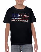 Apparel, Decals, Books, Gift Cards - Shirts/Hoodies - Butler Performance - Youth Butler Pontiac Power T-Shirt, Small-XL BPI-TS-BP1618KD