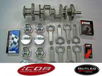 """Butler Performance456-463 ci Balanced Rotating Assembly,Keith Black Icon, for 428 Block, 4.210"""" str."""