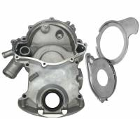 Butler Performance - Butler Pontiac Timing Cover-8 Bolt, with Fitted Plates 326, 350, 400, 421, 428 1964-1968 BPI-TC-68 - Image 1