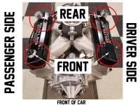 "Butler Performance - Butler Performance 2 3/4"" Short ""Pontiac"" Fab Aluminum Valve Covers(Set)BFA-SVC1-POL - Image 4"