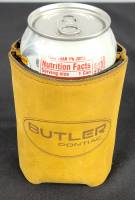 Butler Performance - Top Grain Leather Koozie, Insulated, Custom Laser Logo - Image 15