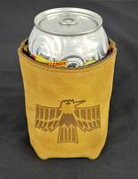 Butler Performance - Top Grain Leather Koozie, Insulated, Custom Laser Logo - Image 10